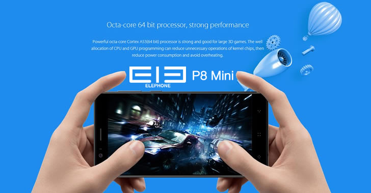 Elephone P8 Mini hardware