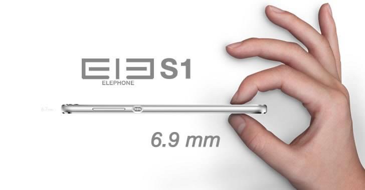 Elephone S1 thin