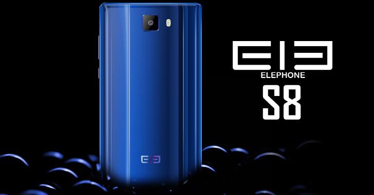 Elephone S8 back