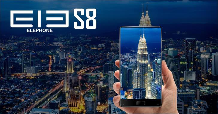 Elephone S8 design