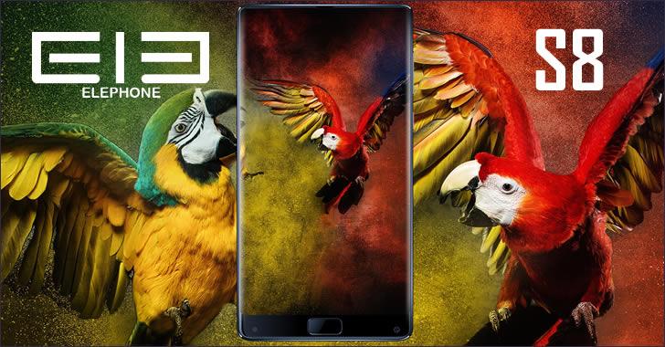 Elephone S8 front