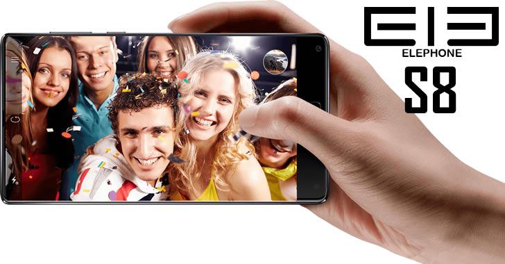 Elephone S8 selfi camera