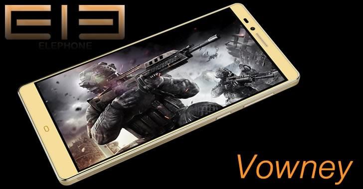Elephone Vowney и Elephone Vowney Lite - мощни и евтини смартфони с 2K дисплей и Helio X10 Octa Core процесор