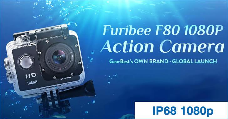 Furibee F80 - евтина 1080P екшън камера