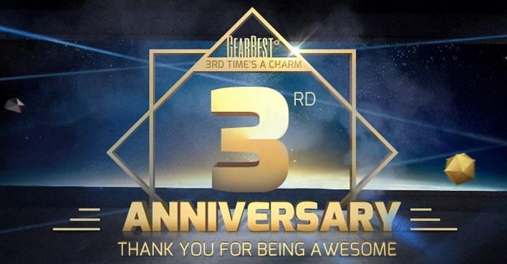 3 години GearBest - грандиозни промоции