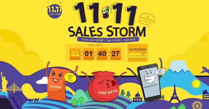 Sales Storm - най-голямата разпродажба в GearBest започна