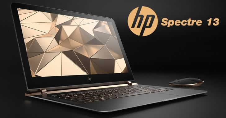 HP Spectre 13 display