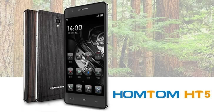 HOMTOM HT5 both