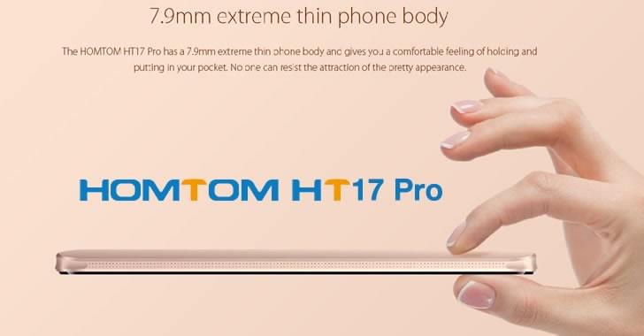 Homtom HT17 Pro - 5.5-инчов 4G смартфон със Sony камера и ниска цена