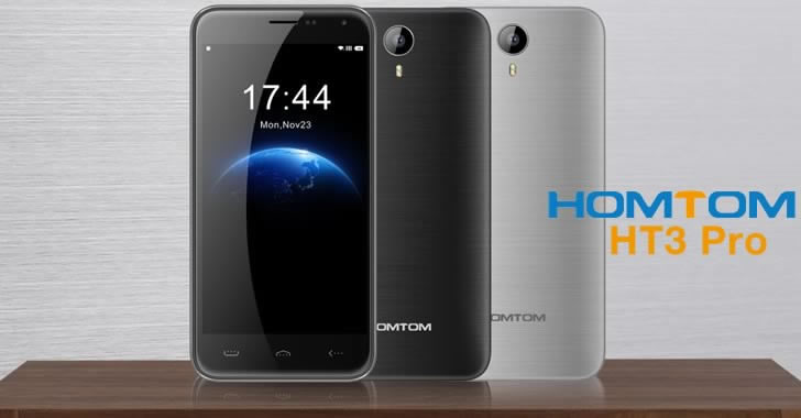 Homtom HT3 Pro colors