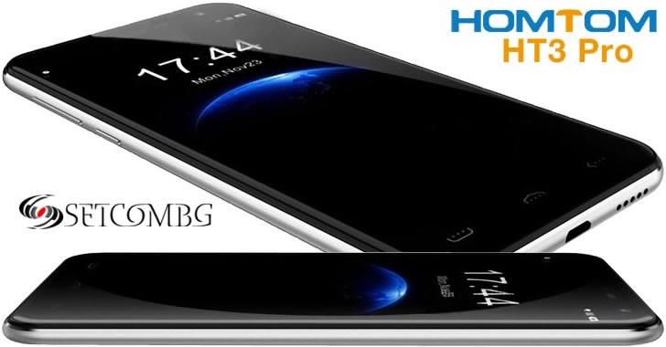 Homtom HT3 Pro - бюджетен 4G смартфон с 4-ядрен процесор и 2GB RAM