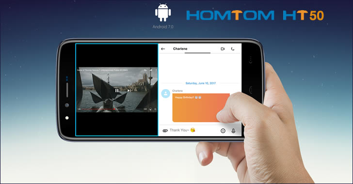 Homtom HT50 Android