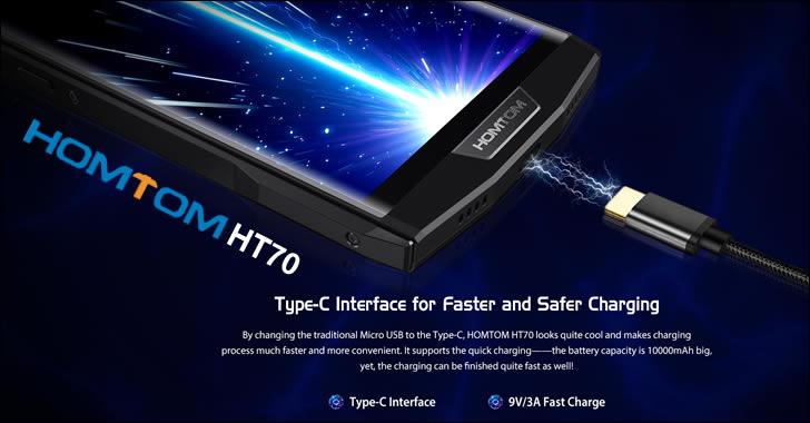 Homtom HT70 USB C