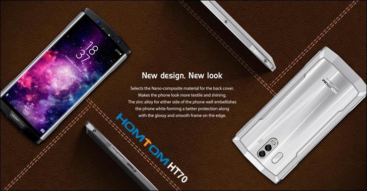 Homtom HT70 design