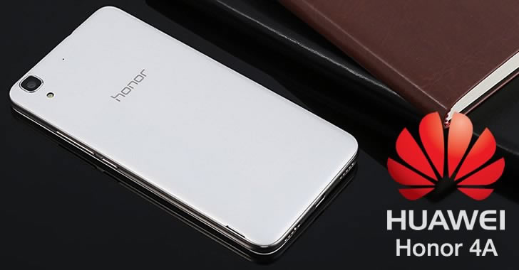 Huawei Honor 4A back panel