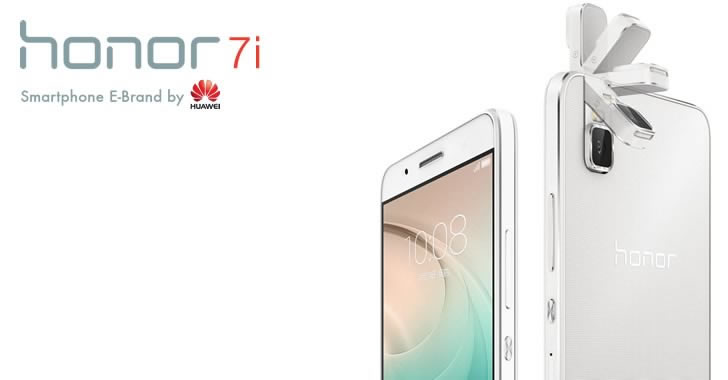 Huawei Honor 7i camera rotate
