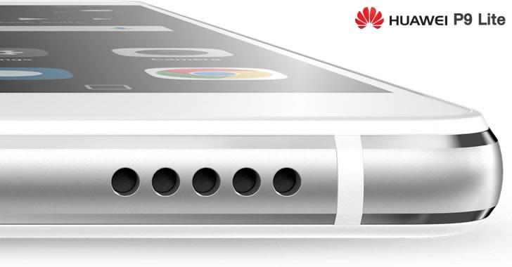 Huawei P9 Lite audio