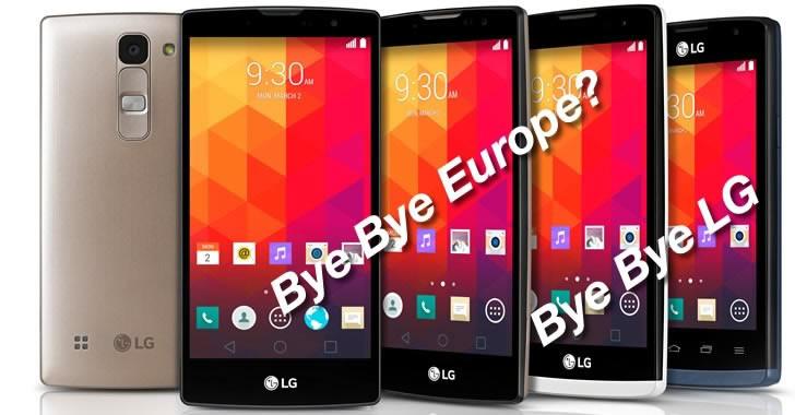 LG смартфони... Какво беше това?