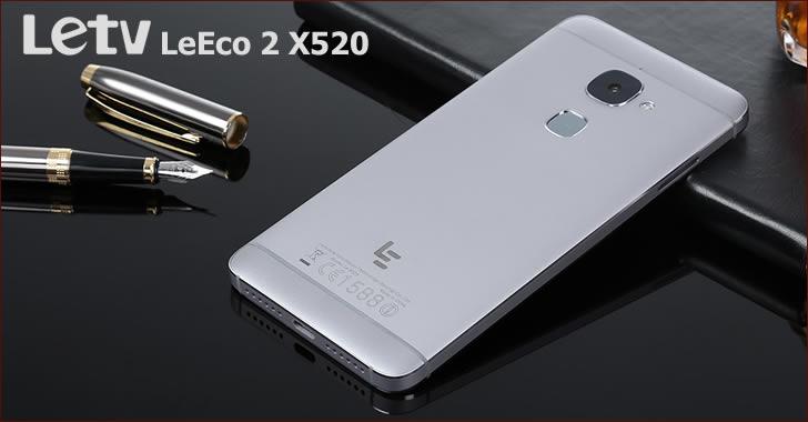 LeTV LeEco 2 X520 back