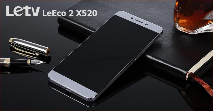 LeTV LeEco 2 X520 - 8-ядрен метален смартфон с 16MPx камера