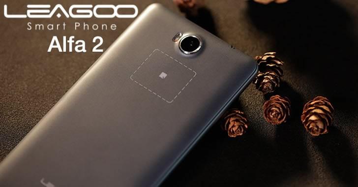 Leagoo Alfa 2 - смартфон с уникален тъч бутон на гърба