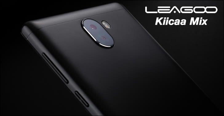 Leagoo Kiicaa Mix camera