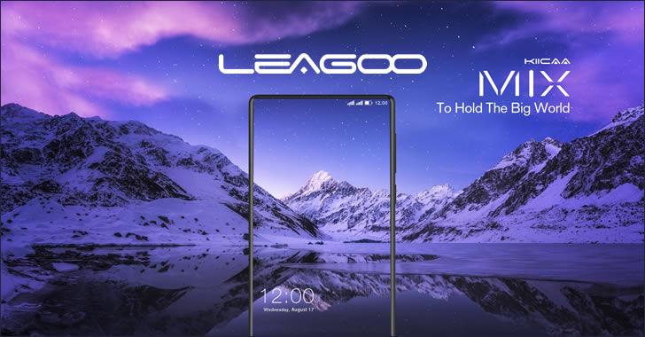 Leagoo Kiicaa Mix - безрамков смартфон с 8-ядрен процесор, 3GB RAM и двойна камера