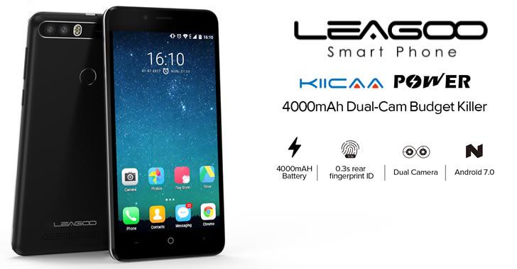 Leagoo Kiicaa Power - евтин смартфон с двойна камера и голяма батерия