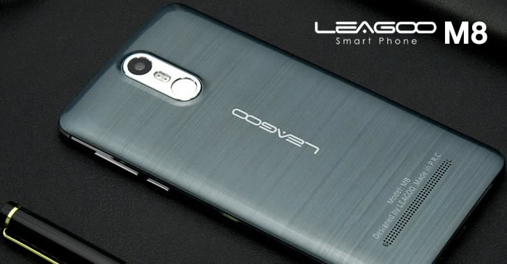Leagoo M8 black