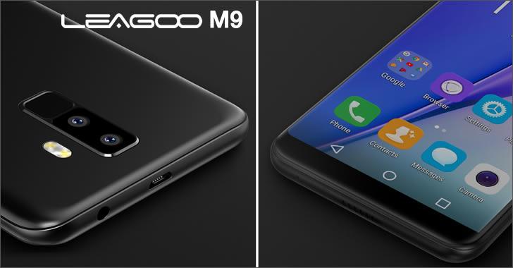 Leagoo M9 details