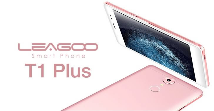 Leagoo T1 Plus design