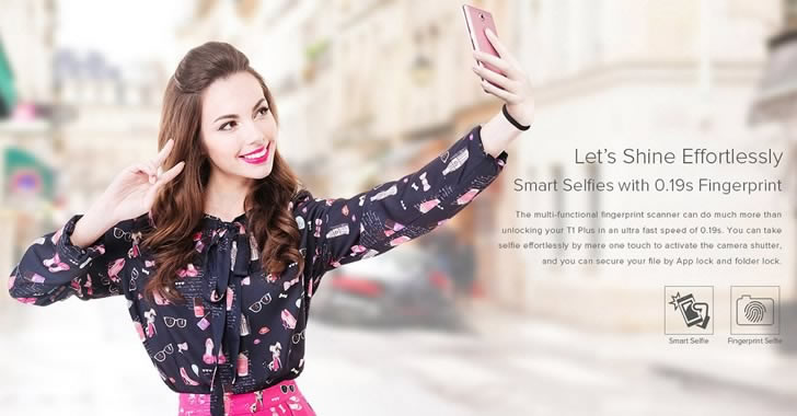 Leagoo T1 Plus selfie