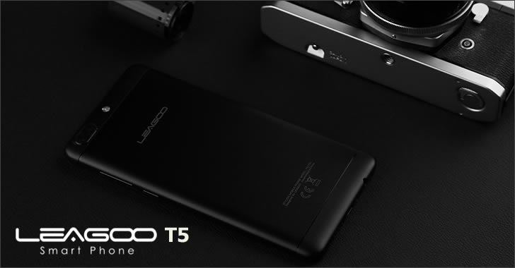 Leagoo T5 back
