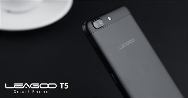 Leagoo T5 dual camera
