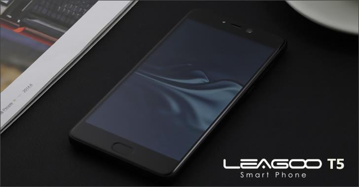 Leagoo T5 front