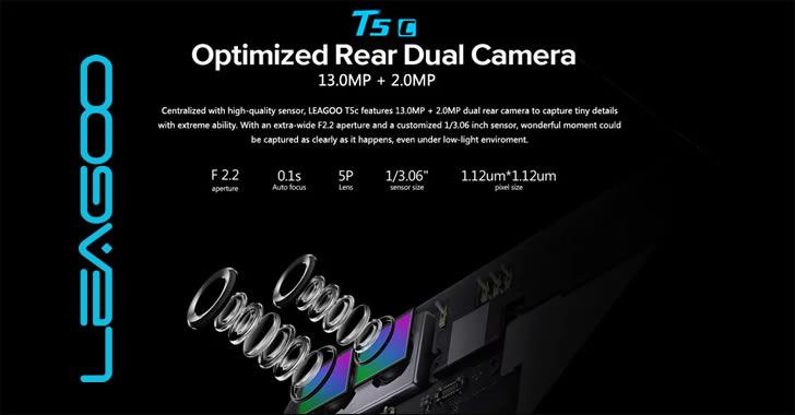 Leagoo T5c camera