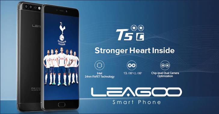 Leagoo T5c - смартфон с екзотичен бърз процесор, метален корпус, Full HD екран и ниска цена
