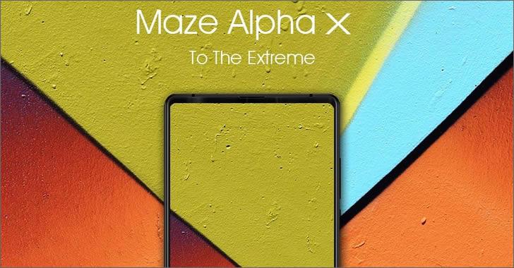 Maze Alpha X front