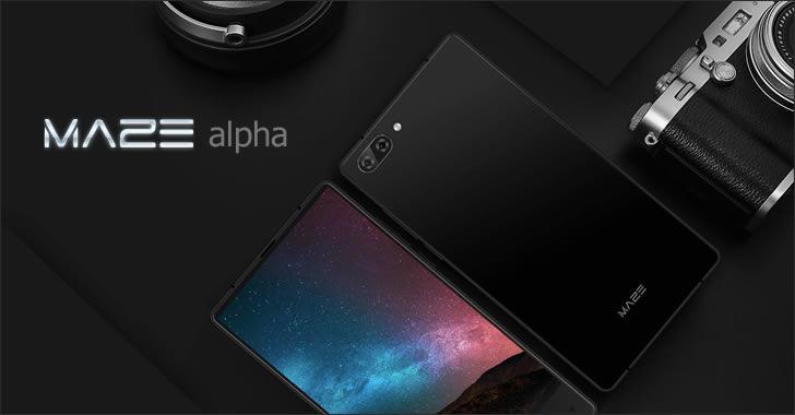 Maze Alpha black