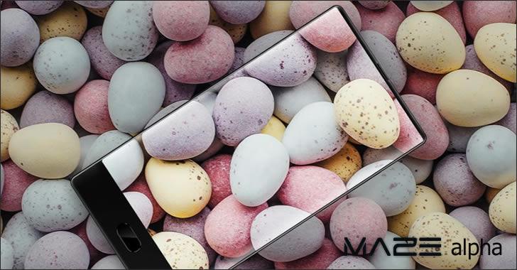 Maze Alpha smartphone
