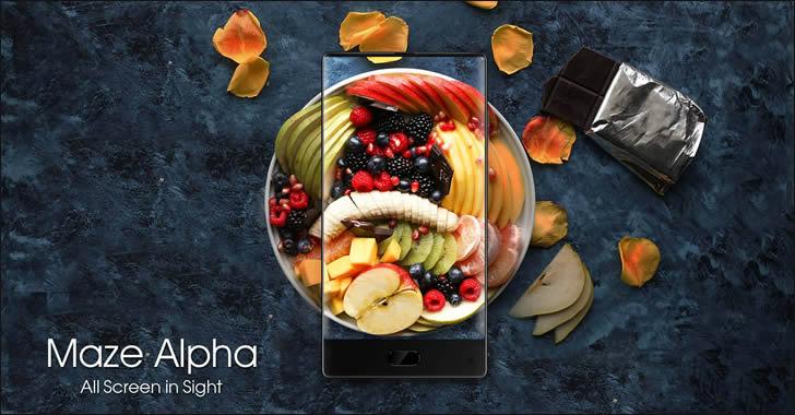 Maze Alpha - атрактивен смартфон без рамки с ниска цена и двойна камера