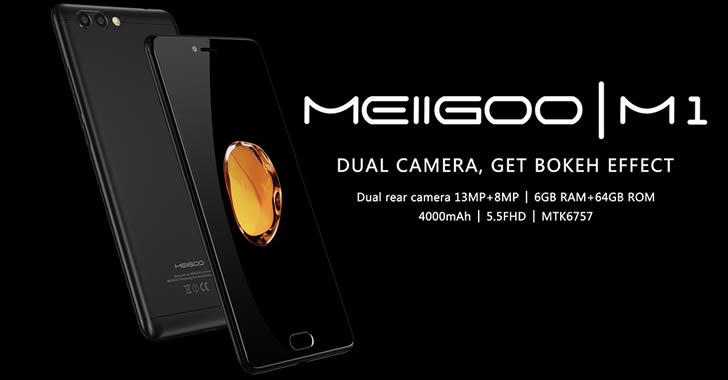 Meiigoo M1 - мощен, метален смартфон с двойна камера и 6GB RAM