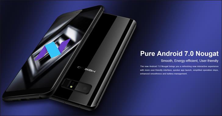 Meiigoo Note 8 Android