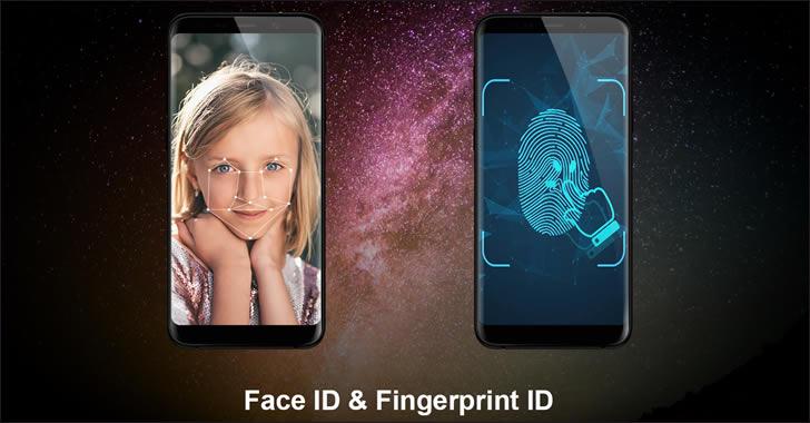 Meiigoo Note 8 Face ID