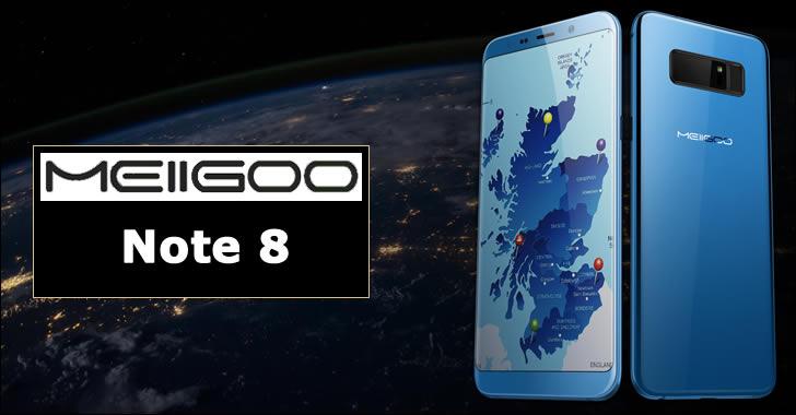 Meiigoo Note 8 - смартфон с Face ID, 6-инчов дисплей и добре познат дизайн