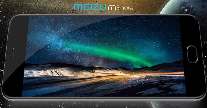 MEIZU M3 note display