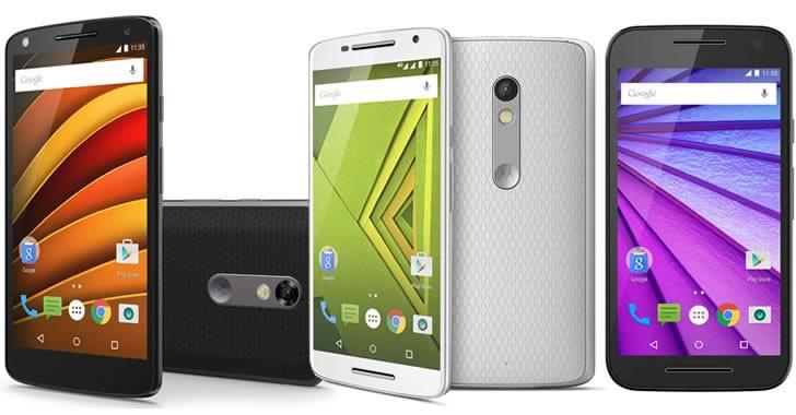 Motorola се завръща в България с 3 смартфона