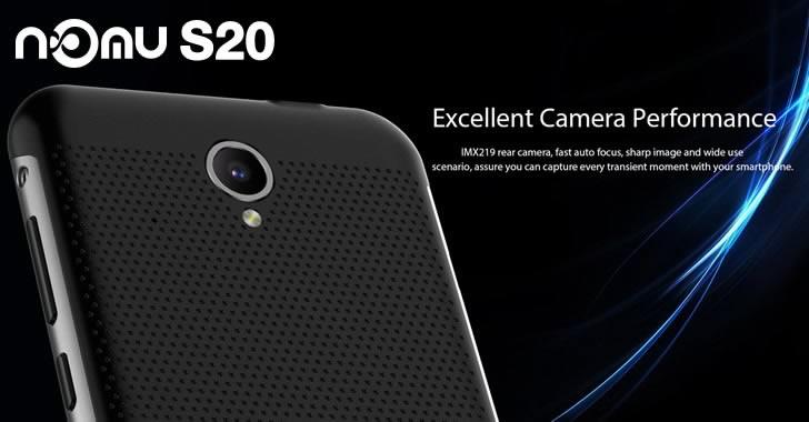 Nomu S20 camera
