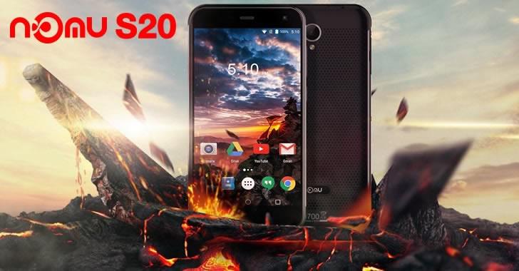 Nomu S20 - модерен смартфон, защитен от удари, падания, вода и прах