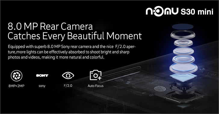 Nomu S30 mini camera